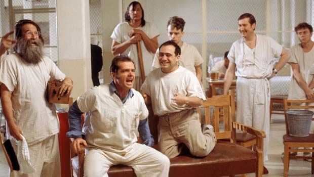 فيلم One Flew Over the Cuckoo's Nest سنة 1975