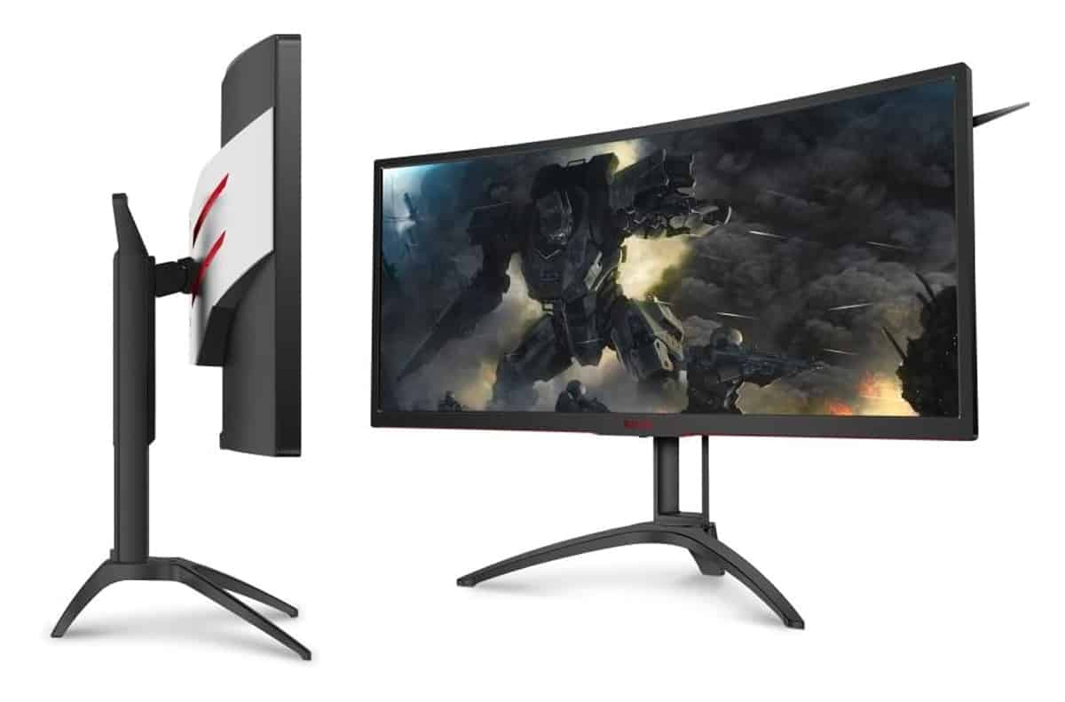شاشة AOC Agon AG352UCG6 Black Edition