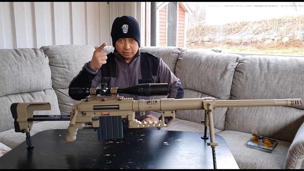 5- بندقية CheyTac M200 Intervention: